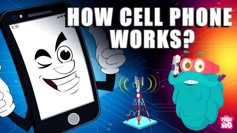 How Cell phone works