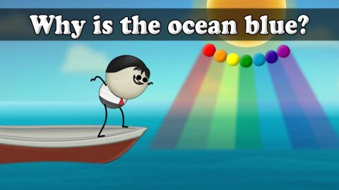 Why is the ocean blue?