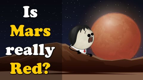 Is Mars really red?