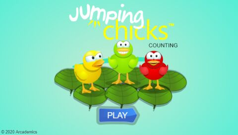 Jumping Chicks