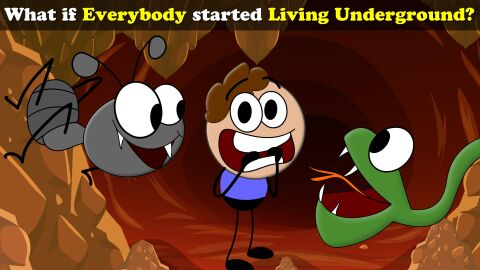 What if everyone started living underground?
