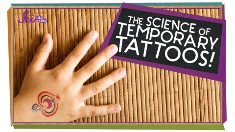 The science of temporary tattoos