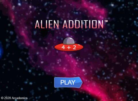 Alien Addition (Common Core)