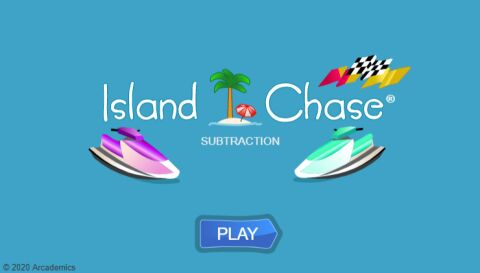 Island Chase Subtraction (Common Core)
