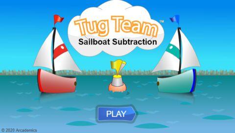 Sailboat Subtraction (Common Core)