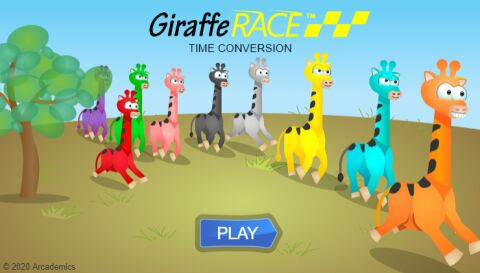 Giraffe Race (Common Core)