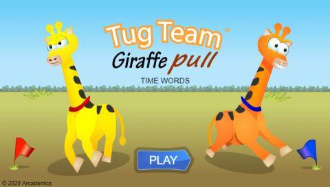 Tug Team Giraffes (Common Core)
