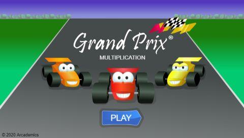 Grand Prix Multiplication (Common Core)