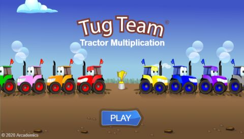 Tractor Multiplication (Common Core)