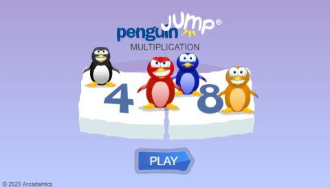 Penguin Jump (Common Core)