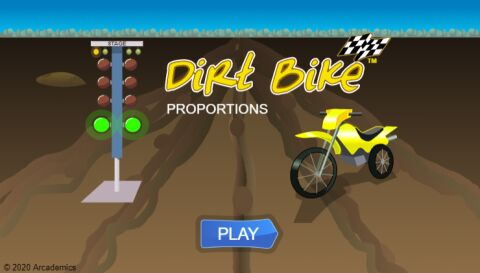 Dirt Bike Proportions (Common Core)