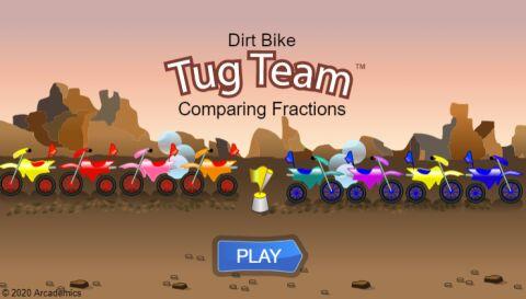 Dirt Bike Fractions (Common Core)