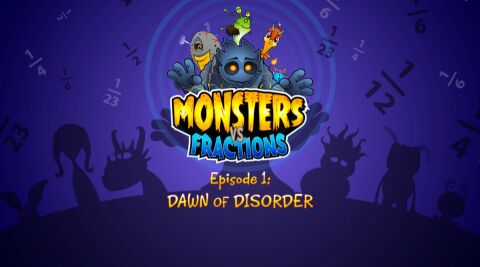 Monsters vs Fractions: Episode 1 (Common Core)