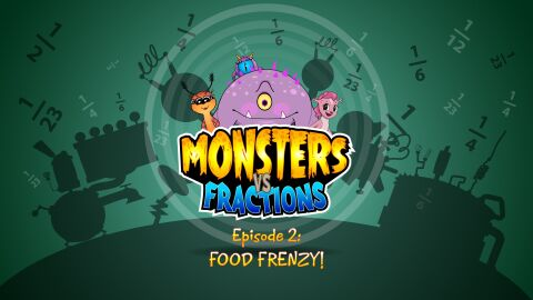 Monsters vs Fractions Episode 2 (Common Core)