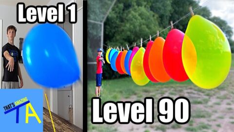 Balloon popping levels 1-100
