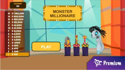 Monster Millions Quiz