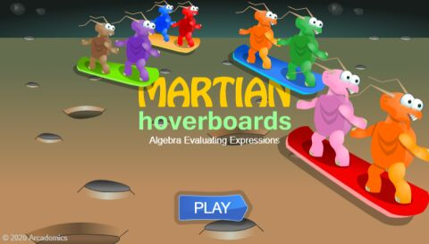 Martian Hoverboards