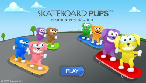 Skateboard Pups