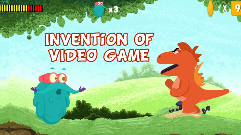Invention of video games