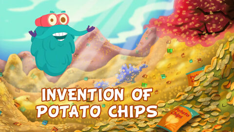 Invention of potato chips