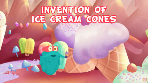 Invention of ice cream cone