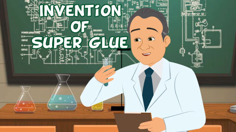 Invention of super glue