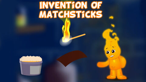 Invention of matchsticks